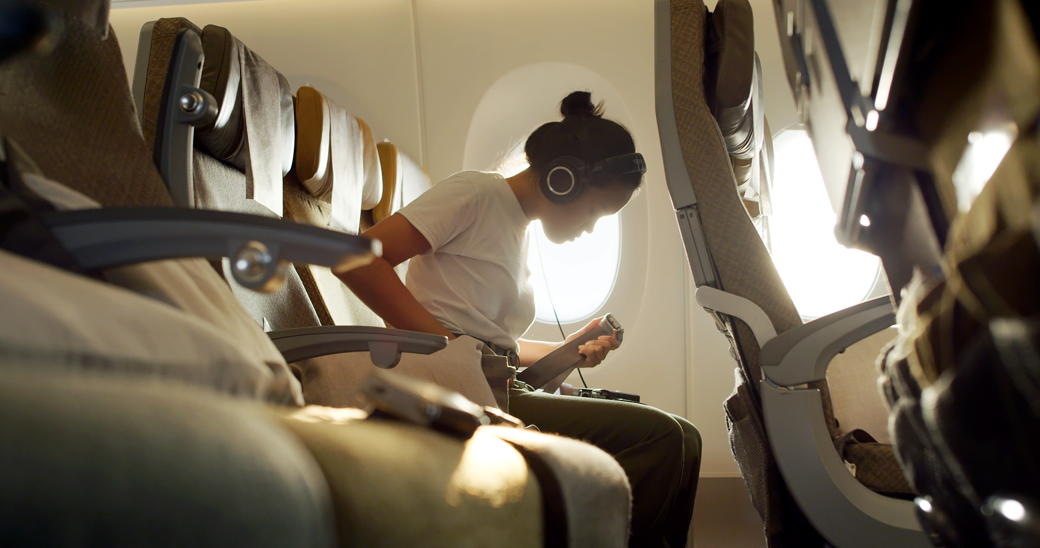This Seattle DJ Turned A Singapore Airlines Airbus A350 Into Her Musical Instrument