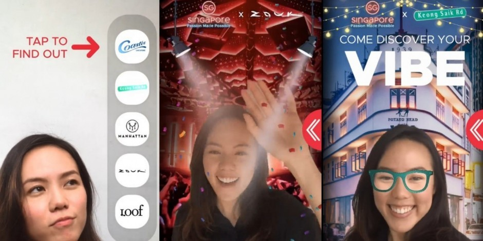 Singapore Tourism Board kicks off 2019 with Facebook AR filter and new Action Seekers film