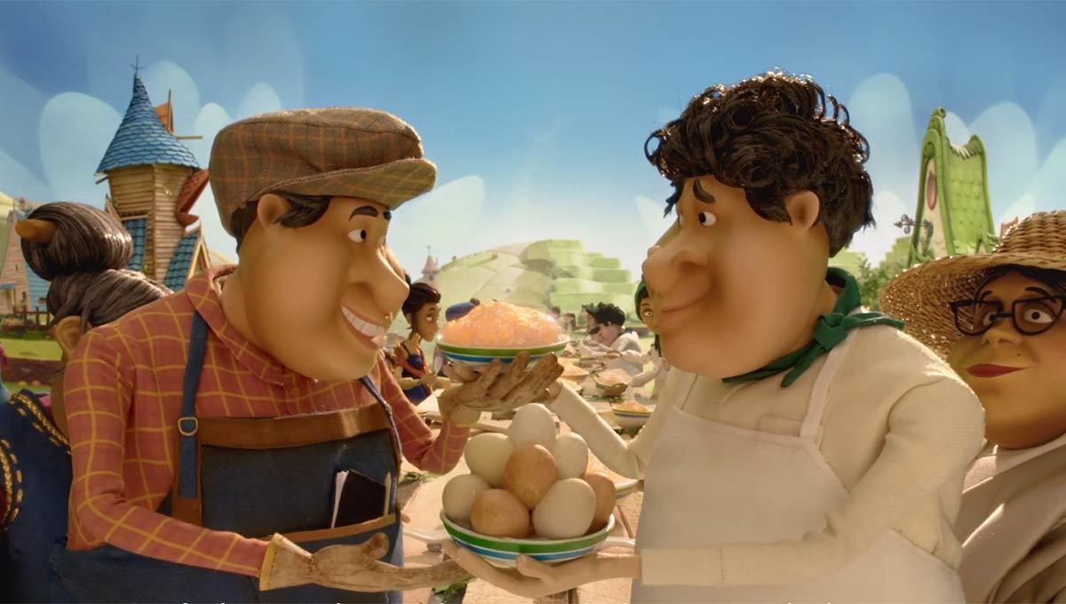 Standard Chartered Animated Film Pitches the Importance of Global Trade – and Egg Fried Rice